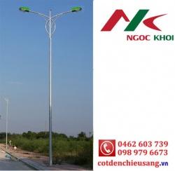Cột đèn cao áp 12m cần đôi kiểu B01
