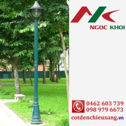 Cột sân vườn PINE lắp đèn Miria